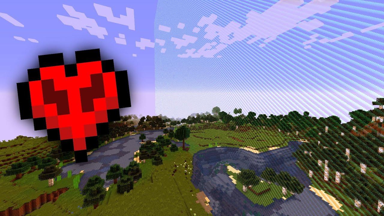 Flying to world border in Hardcore Minecraft (30 million blocks away)