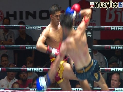 Muay Thai  Rambo vs Rafi แรมโบ้ vs ราฟฟี่, Lumpini Stadium, Bangkok, 4.4.17