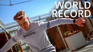 No Touch World Record - Freestyle Football