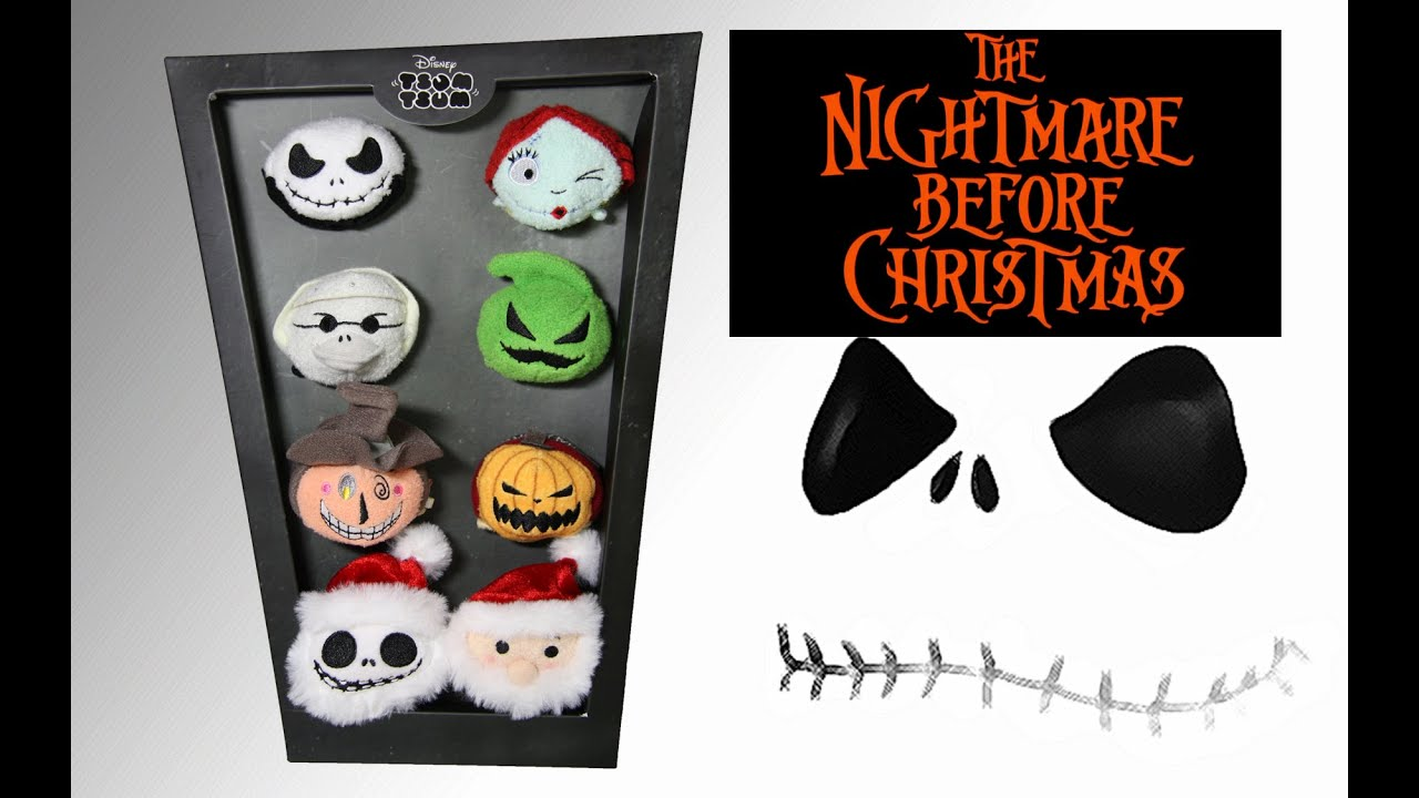 The Nightmare Before Christmas Tsum Tsum Box Set Collection Review ...