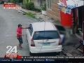 24 Oras: Lalaking may kasamang 2 bata, binaril sa loob ng kanyang sasakyan