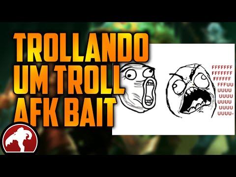Trollando um troll - AFK bait - Dota 2