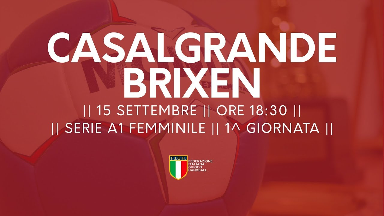 Serie A1 Femminile [1^ giornata]: Casalgrande - Brixen 21-37