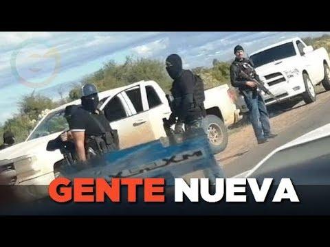 Retén De Gente Nueva En Caborca #Sonora