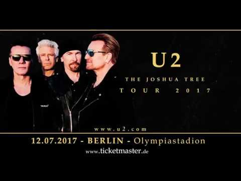 U2 - The Joshua Tree Tour 2017 | Trailer | Ticketmaster