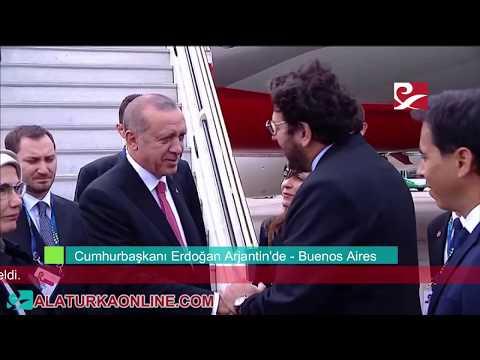 Cumhurbaşkanı Erdoğan Arjantin'de - Buenos Aires