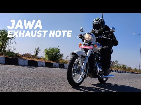 Jawa exhaust note and 0-120kmph sprint : Powerdrift