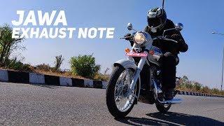 Jawa exhaust note and 0 120kmph sprint : Powerdrift
