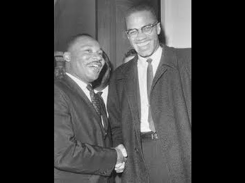 WAS DR. Martin Luther King leading black's into a burning house ?