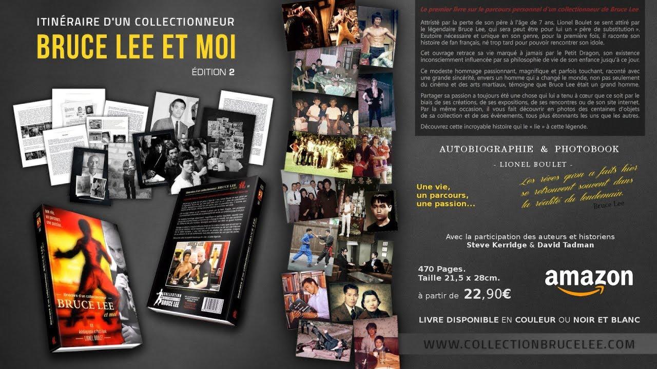 Bruce Lee Et Moi Bande Annonce Livre Edition 2019