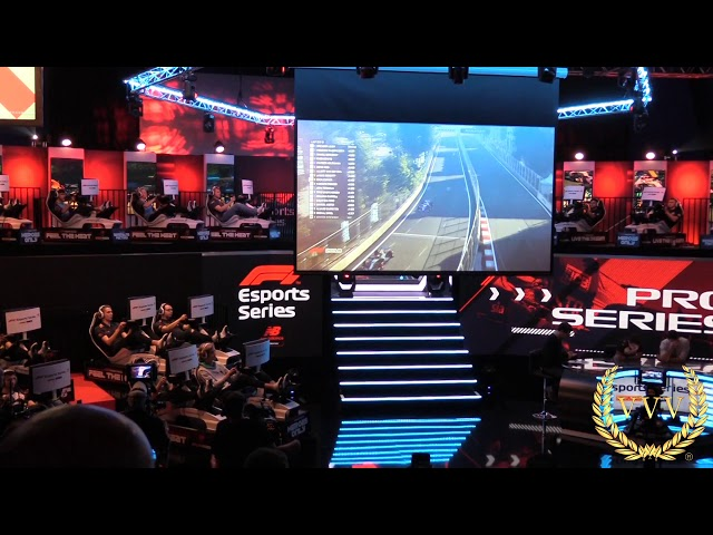 F1 Esports Race 3 excitment at the finish