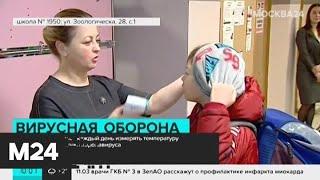 В детских садах и школы отменили массовые мероприятия из-за коронавируса - Москва 24