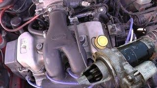 Залипло втягивающее реле стартера - Как завести автомобиль(, 2014-03-11T20:13:27.000Z)