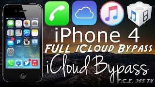 Bypass iPhone 4 iCloud with full activation and no service fixed*!