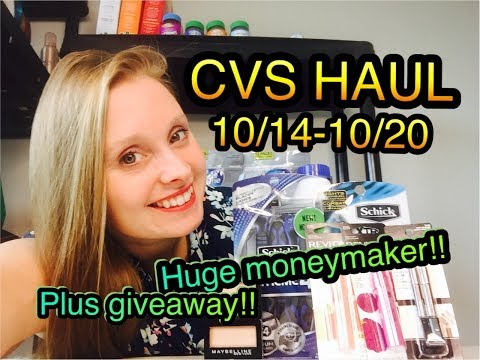 CVS HAUL 10/14/18-10/20/18 ~ HUGE MAKEUP...