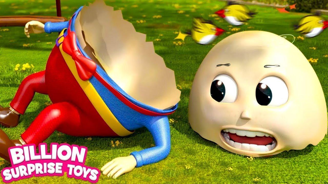 Songs for Children | Humpty Dumpty Nursery rhyme for Kids