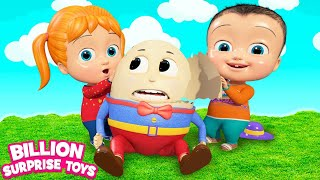 Download Humpty Dumpty Fantasy Cartoon | + More Kids Songs | Billion Surprise Toys Mp3 and Videos