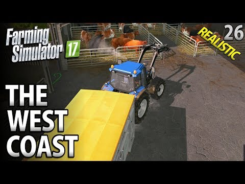 Let's Play Farming Simulator 17 | The West Coast | Episode 26