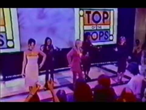 Spice Girls Viva Forever TOTP 1st Performance