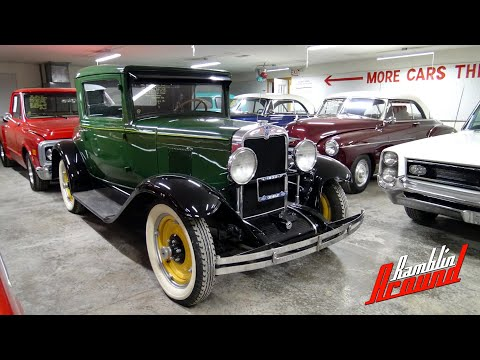 1930 Chevrolet 3 Window Coupe, Straight Six, 3 Spd, At Country Classic Cars