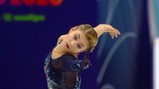 Алена Косторная Короткая программа Кубок России 2020 21 Четвертый этап