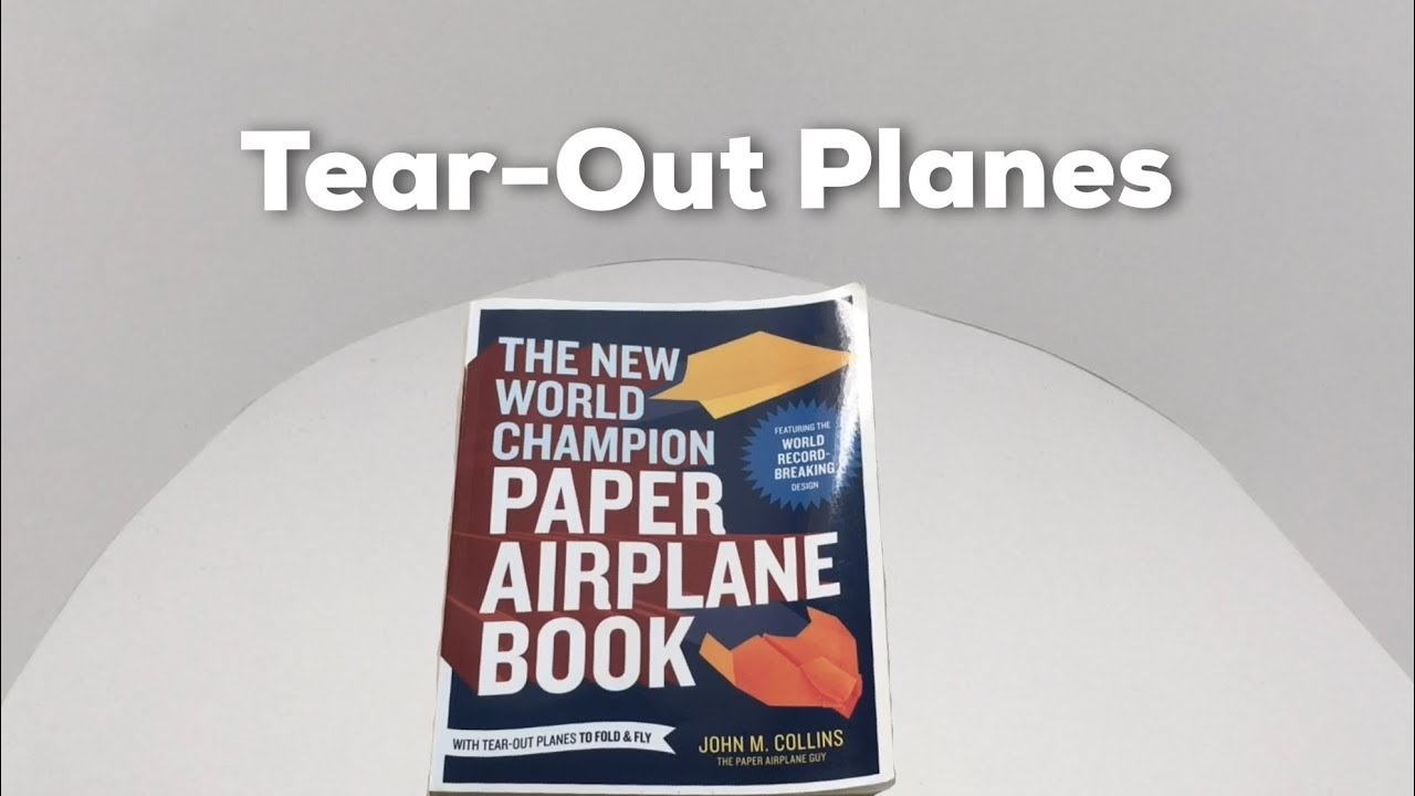 Best paper airplanes book