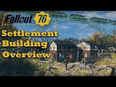Fallout 76 - Settlement Building Overview...