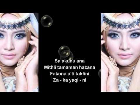 FIDA SYAKUR - KUN ANTA (Be your self) plus lirik