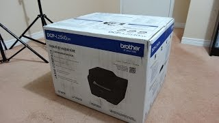 Brother DCP-L2540DW Laser Printer Unboxing