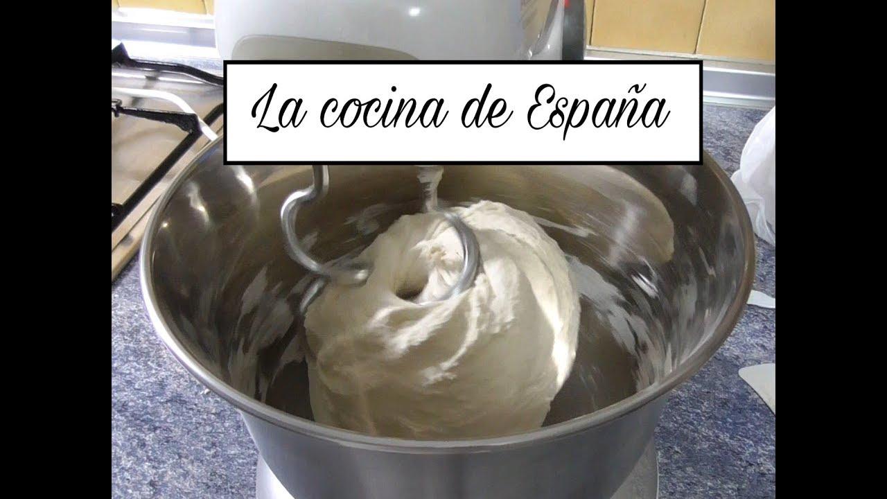 Como Hacer Pan Casero Amasar Pan A Maquina Curso De Panaderia 1 Youtube