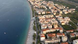 Akrata Beach Aerial Video shoot