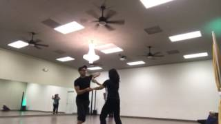 Salsa private class with Nery Garcia
