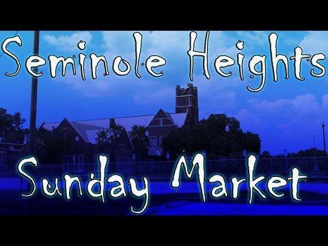 Seminole Heights Sunday Market