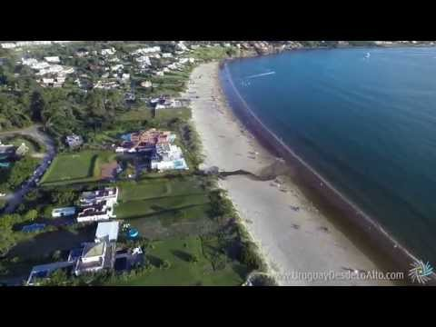 Playa Solanas de Portezuelo, Punta del Este, Uruguay Desde Lo Alto