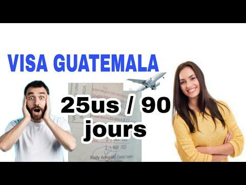 viza Guatemala men kisa tout Ayisyen dwe konnen sou viza sa
