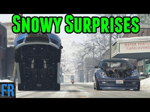 Snowy Surprises - Street Race Career #28 (Gta 5 Mods)