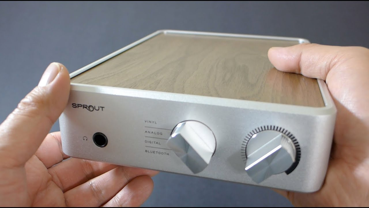First Look: PS Audio Sprout Headphone & Speaker DAC/Amp
