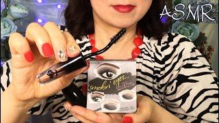 ASMR New Mic🎤 Doing Your Smokey Eye Makeup No Talking exc. Intro Layered Sounds 메이크업 ASMR 인트로빼고 노토킹