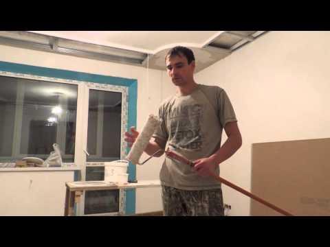 Как идеально покрасить потолок - советы мастера