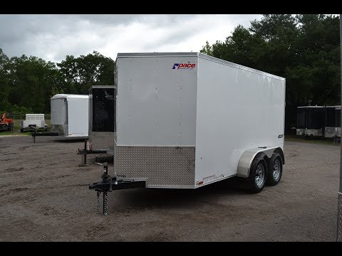 6x12 Pace American | Enclosed Trailer [Tandem Axle]