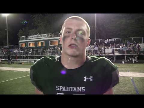 Post Game Interview - Liam Cabri - DePaul - Silk City SportsRap