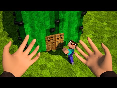How to Build a House in Minecraft - Animation Movie