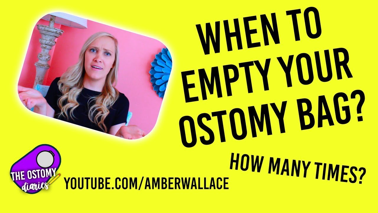When To Empty Your Ostomy Bag!