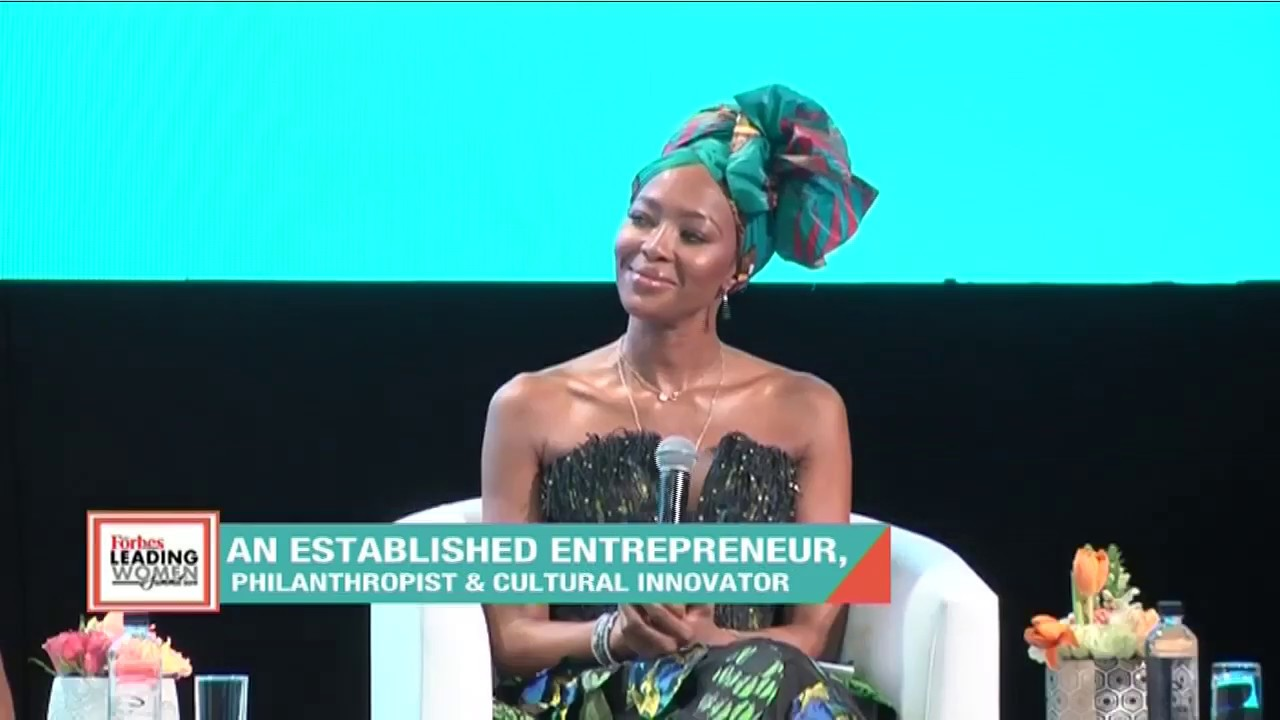 'One on one with Naomi Campbell' at Forbes Woman Africa Leading Women Summit 2019