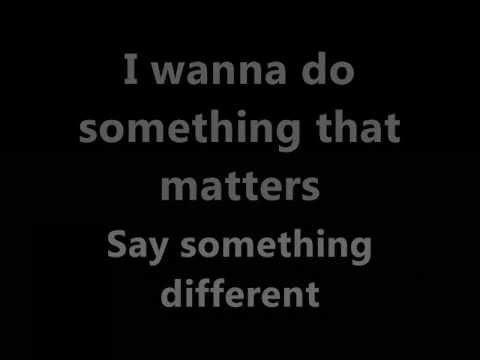 Kristin Chenoweth - I Was Here Lyrics