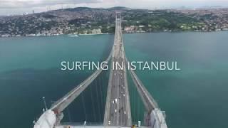 Surfing in Istanbul Blacksea - Istanbul Kilyos dalga sörfü