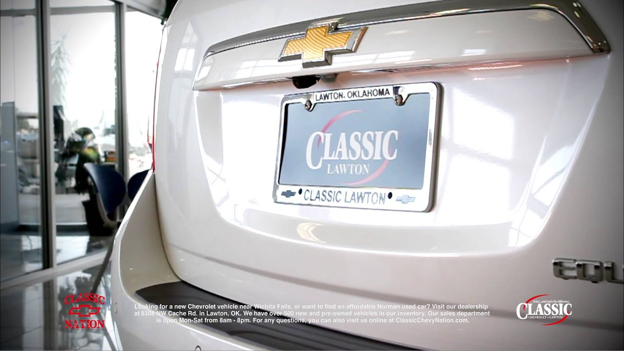Relax And Enjoy The Difference At Classic Lawton Chevrolet Youtube