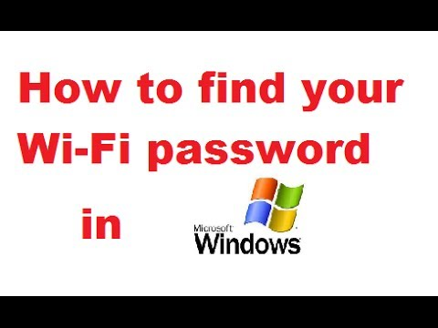 How To Find And Change The Wi-Fi Password In Windows