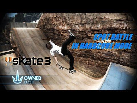 SKATE 3 - Spot Battle in HARDCORE Mode! (Skate 3 Challenge)