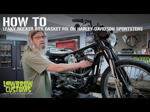 How-To: Leaky Rocker Box Gasket Fix on Harley-Davidson Sportster